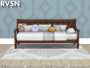 Sims 4 — Bedder Than A Couch Daybed Frames by RAVASHEEN — Make the most out of your simmie's home with Bedder Than A