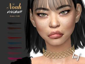 Sims 4 — IMF Noah Eyeliner N.109 by IzzieMcFire — Noah Eyeliner N.109 contains 8 colors in hq texture. Standalone item