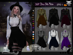 Sims 4 — DSF  Dress Potio Noctem by DanSimsFantasy — For those lovely ones who are collecting plants, items, opening