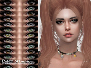 Sims 4 — S-Club WM ts4 Eyecolors 202012  by S-Club — Eyecolors, 20 swatches, hope you like, thank you.