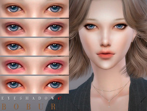 Sims 4 — Bobur Eyeshadow 47 by Bobur2 — Eyeshadows for female 12 colors HQ I hope you like it