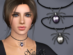 Sims 3 — NataliS TS3 Haloween spider choker by Natalis — Haloween spider choker. FT-FA-FE