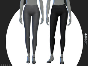 Sims 4 — pipco - instinct leggings. by Pipco — a simple, sleek pair of leggings.