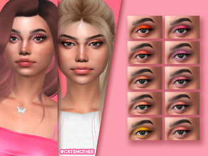 Sims 4 — ES-12 / Clueless Shadow by catemcphee — - 10 swatches - HQ Compatible