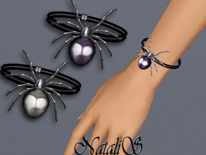 Sims 3 — NataliS TS3 Haloween spider bracelet by Natalis — Haloween spider bracelet. FT-FA-FE