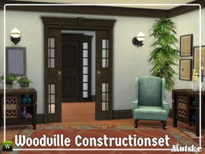 Sims 4 — Woodville Constructionset Part 5 by Mutske — This is the fifth part of the Woodville Construction. These are