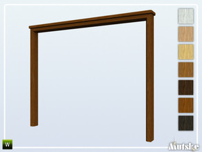 Sims 4 — Woodville Arch B 3x1 by Mutske — This arch is part of the Woodville Constructionset. Made by Mutske@TSR.