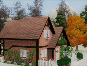 Sims 3 — Tiny House for Artist by sgK452 — This house is ideal for a couple who love to paint and draw, who have the soul
