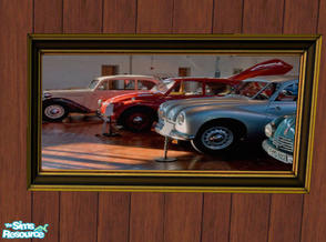 Sims 2 — Original Artwork- Cars by RockinRobin — On the advice of a friend, I decided to turn some of my photography into