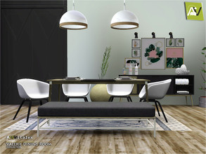 Sims 3 — Valerie Dining Room by ArtVitalex — - Valerie Dining Room - ArtVitalex@TSR, Oct 2020 - All objects are