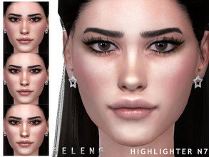 Sims 4 — Highlighter N7 by Seleng — Female l Male Child to Elder 5 variations Skin Detail Section Custom Thumbnail HQ