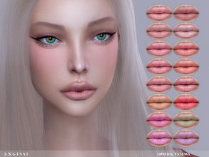 Sims 4 — Lipstick Vanessa by ANGISSI — Previews made with HQ mod For all questions go here ---- angissi.tumblr.com -16