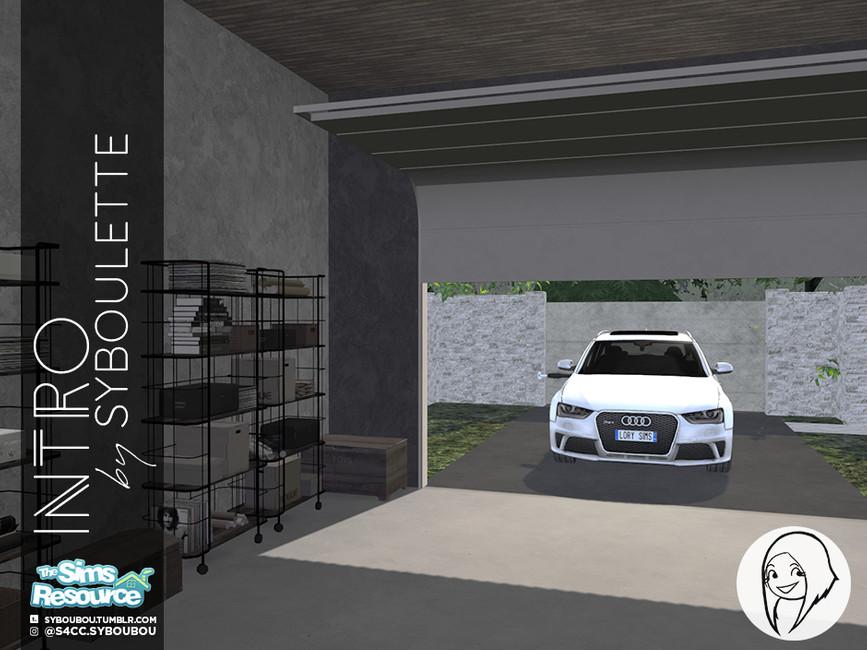 Syboubou S Intro Garage Door Opened
