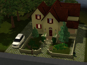 Sims 3 — Empty Cottage Aurora skies by sgK452 — Little garden, a house for a family of at least 4 people, it's up to you