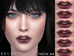 Sims 4 — Teeth N4 by Seleng — Teeth for female/male Child-Elder 6 variations HQ mod compatible The picture was taken with