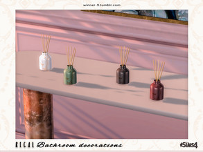 Sims 4 — Regal Diffuser by Winner9 — Diffuser from my Regal bathroom, you can find it easy in your game by typing Winner9