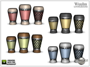 Sims 4 — Wuulm living room vase 1 by jomsims — Wuulm living room vase 1