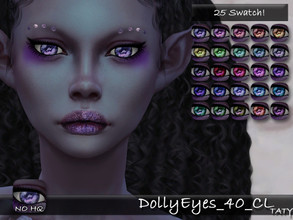 Sims 4 — [Ts4]Taty_DollyEyes_40_CL by tatygagg — - Female, Male - Human, Alien - Toddler to Elder - Hq Compatible