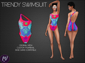 Sims 4 — Swimwear Vol.5 by linavees — Original Mesh Custom thumbnail Base game compatible Happy simming!
