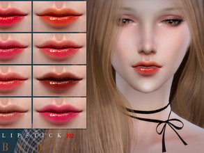 Sims 4 — Bobur Lipstick 102 by Bobur2 — Lipstick for female 12 colors HQ I hope you like it