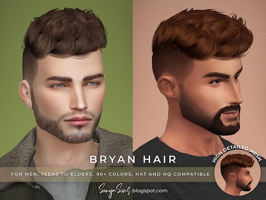 Sonyasimscc S Sonyasims Bryan Hair