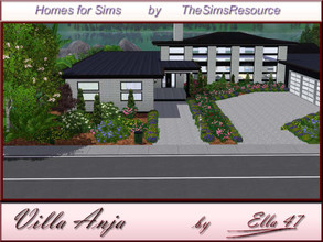 Sims 3 — Villa Anja by ella47 — Villa Anja Is a verry nice house for your Sims, The Villa is a spacious one story build
