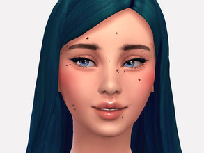 Sims 4 — Paigey Birthmarks by Sagittariah — base game compatible 1 swatch properly tagged enabled for all occults