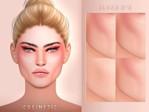 Sims 4 — COSIMETIC Blush + Contour N9 by cosimetic — _______________________________________________ - This blush can use