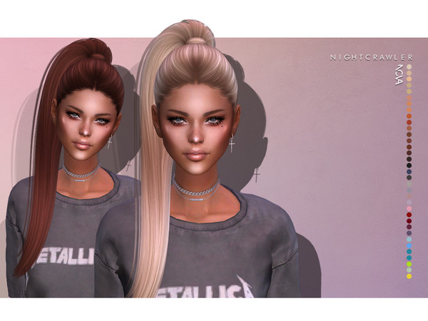 Nightcrawler Sims Nightcrawler Nova Hair