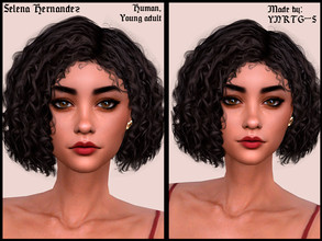 Sims 4 — Selena Hernandez by YNRTG-S — Selena is a dreamy and melancholic person. She has a great passion for gardening