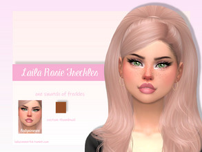 Sims 4 — Laila Rosie Freckles  by LadySimmer94 — BGC 1 swatch Found in Skin Details Custom Thumbnail (as seen on the ad)