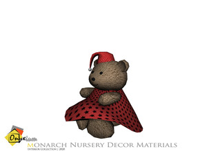 Sims 4 — Monarch Female Teddy Bear by Onyxium — Onyxium@TSR Design Workshop Nursery Collection | Belong To The 2020 Year