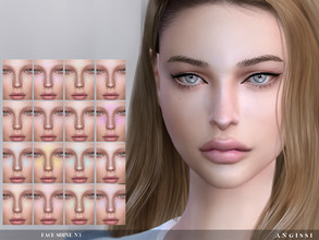 Sims 4 — Face Shine N3 by ANGISSI — Previews made with HQ mod For all questions go here ---- angissi.tumblr.com -category