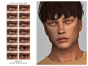 Sims 4 — Eyecolors N40 by -Merci- — New Eyecolors for Sims4 -Eyecolors for both genders and all ages. -No allow for