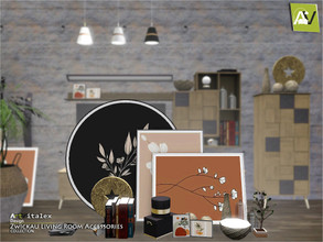 Sims 3 — Zwickau Living Room Accessories by ArtVitalex — - Zwickau Living Room Accessories - ArtVitalex@TSR, Dec 2020 -