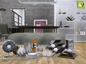 Sims 3 — Jersey Dining Room Accessories by ArtVitalex — - Jersey Dining Room Accessories - ArtVitalex@TSR, Dec 2020 - All