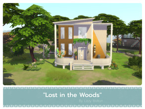 Sims 4 — Lost in the Woods by LizzyBolton — Sul sul my little simmers! This little and cozy two floors house is fully