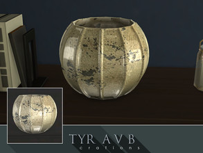 Sims 4 — Mercury Glass Vase 02 by TyrAVB — This vase with timeless and nowadays again very popular decorative mercury