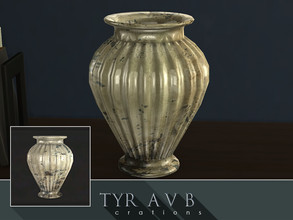 Sims 4 — Mercury Glass Vase 03 by TyrAVB — This vase with timeless and nowadays again very popular decorative mercury