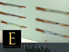 Sims 4 — Didgeridoo - E collection by TyrAVB — This is a first item in my new E collection (Exotic, Exclusive) that will