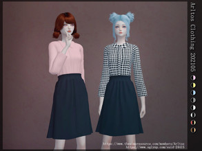 Sims 4 — Arltos Clothing 202105 by Arltos — 8 colors New mesh by me