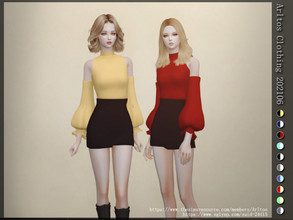 Sims 4 — Arltos Clothing 202106 by Arltos — 10 colors New mesh by me