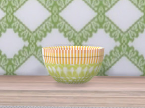Sims 4 — Spring Is Coming Deco Bowl by seimar8 — A bright and colourful decorative bowl. Part of Spring is Coming Set