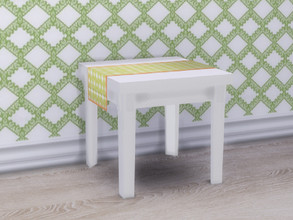 Sims 4 — Spring Is Coming Dining Table by seimar8 — A bright and modern dining table. Part of Spring is Coming set. Base