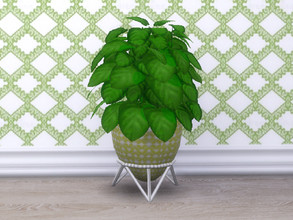 Sims 4 — Spring Is Coming Potted Plant by seimar8 — A Potted plant. Part of Spring Is Coming set. Get Famous Expansion