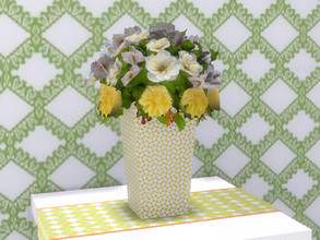 Sims 4 — Spring Is Coming Vase of Flowers by seimar8 — A bright and cheery vase of fresh cut flowers. Part of Spring is