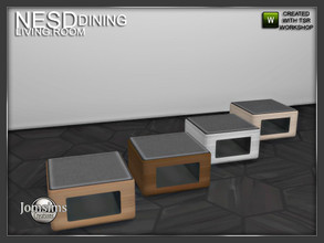 Sims 4 — Nesd dining room puff by jomsims — Nesd dining room puff