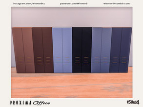 Sims 4 — Proxima Locker by Winner9 — Locker from my Proxima Office, you can find it easy in your game by typing Winner9