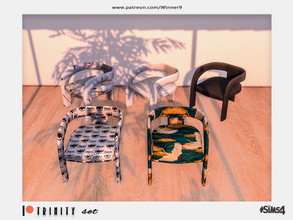 Sims 4 — Trinity - Living chair Patreon by Winner9 — Living chair from my Trinity set, you can find it easy in your game