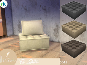 Sims 4 — Nikadema Ibiza El Salon Sofa by nikadema — This is a contemporary boho sofa you can use as a modular one. Look